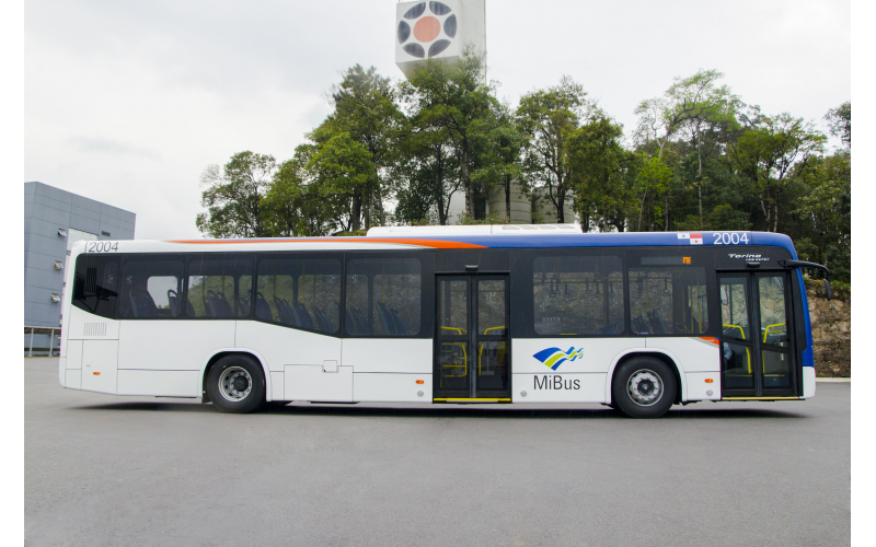 MARCOPOLO SUPPLIES 203 TORINO LOW ENTRY BUSES TO PANAMA\'S PUBLIC ...